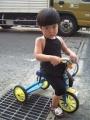 こげない三輪車